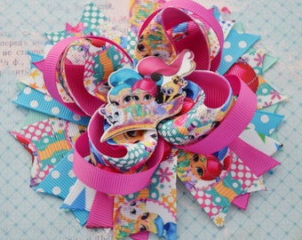 Shimmer and Shine birthday Gift for girl Hair bows Shimmer and Shine party Kids jewelry Personalized gifts for baby Headband bows Hair clips