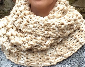 Super chunky infinity scarf, winter cowl, winter scarf, gifts for women, womens accessories.