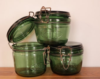 French Vintage Jars (pack of three) - Beginning of the 20th Century
