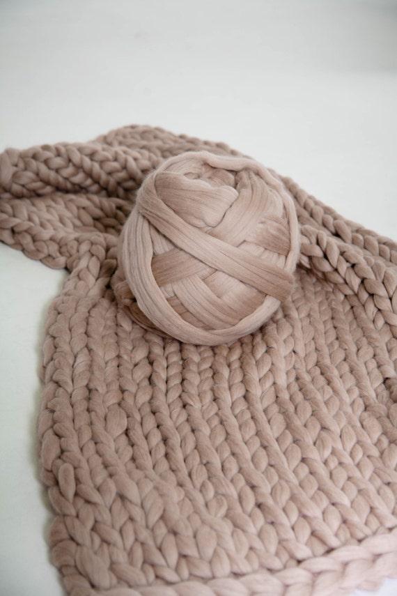 Arm Knitting Yarn : Chunky yarn wool microns arm knitting merino