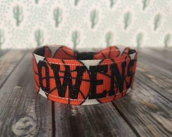 Football mom bracelet, Baseball mom bracelet, Basketball mom bracelet, personalize, sports