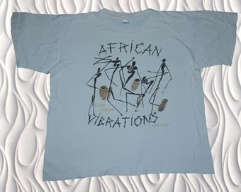 90's AFRICAN VIBRATIONS - XL - T-shirt