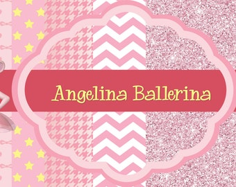 Angelina Ballerina Digital Paper