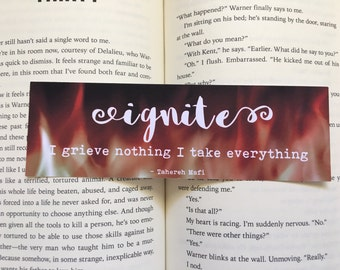 REDUCED TO CLEAR: ignite Bookmark