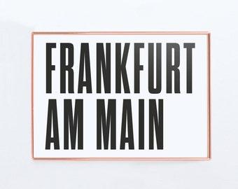 Hamburg stadtplan deutschland karte grafik design poster for Grafik design ausbildung frankfurt