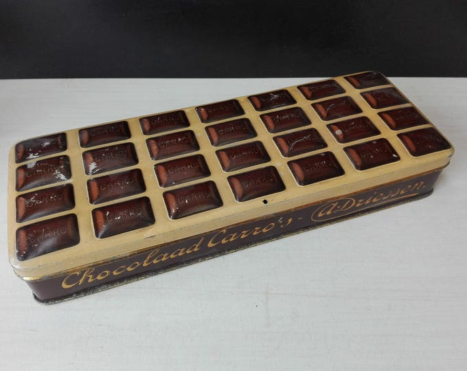 Driessen chocolade carro's (Chocolate tin)
