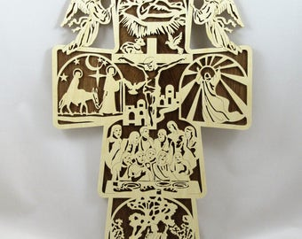 Scenes From the Life of Jesus Cross