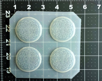 Oreo Cookie Mold, Chocolate Cookie Mold, Plastic Cookie Mold, Resin Cookie Mold, Wafer Cookie Mold, Candy Mold, Clay Mold, Phone Case Supply