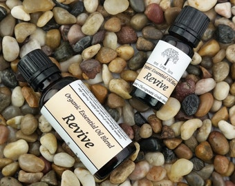 Organic Energy Essential Oil Blend • Aromatherapy • Be Happy •  Massage •  Revive •  Energizing •