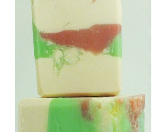 Watermelon Handcrafted Artisan Soap 204797