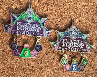 Electric Forest Gate to the Forest V3 Both Weekends Set *Free Shipping*