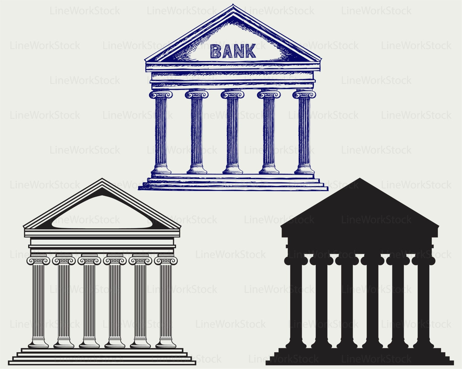 bank svg bank clipart bank svg bank silhouette bank cricut banking clip art with people banking clipart free
