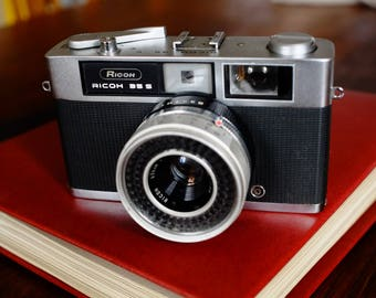 Ricoh 35 S with New Light Seals. Ready-To-Use Vintage 1960s Rangefinder Camera with Limited capabilities