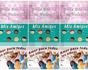 Spanish Valentine Printable *Instant Download*