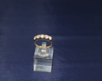 50% Off 1.5ctw Diamond Band in 14K yellow gold Size 7