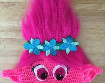 Crochet Pattern For Troll Hat : Crochet troll hat Etsy