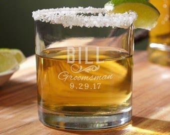 Classic Groomsman XL Huge Shot Glass - Groomsman gift ideas - Wedding party gifts