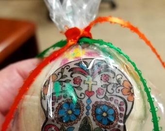 Sugar Skull BUBBLE bath bombs