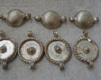 Ethnic Charms. Jewelry Components. 7 pieces.