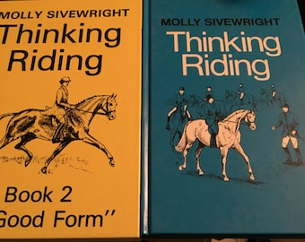 Thinking riding 1&2 by molly sivewright