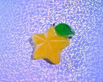 Paopu fruit necklace
