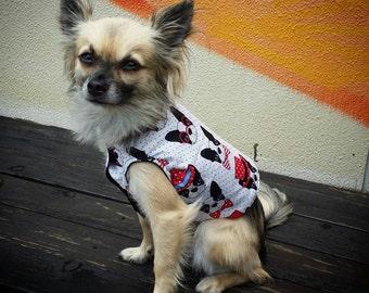 Light Weight Dog Singlet/Vest, Cotton Dog Shirt