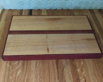 Maple and Sapele Cutting Board
