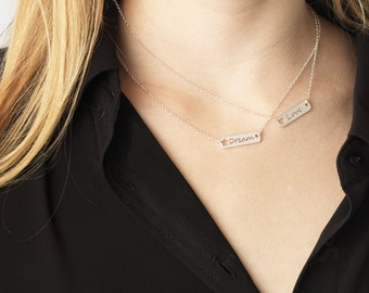 Love necklace - necklace in 925 Silver dream