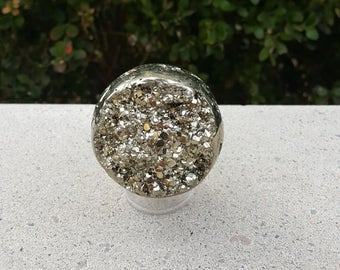 60mm Pyrite Sphere, Pyrite Sphere, Fool's Gold, Fool's Gold Sphere, Crystal Sphere