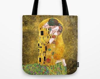the kiss Tote Bag / Gustav klimt (inspired) Tote Bag