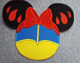 Made to order ~ Miss Apple iron on or sew on applique Patch