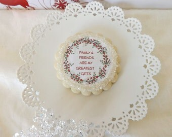 Holiday Sugar Cookie Gift-Edible Party Favor-Housewarming Gift