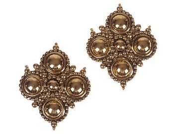 Barrera for Avon Etruscan-Style Earrings