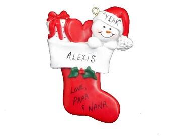 Personalized Granddaughter Ornament - Personalized Grandson Ornament - Personalized Grandchild Ornament - Grandchild Gift