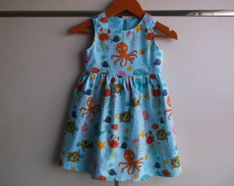 Cute sea creatures dress