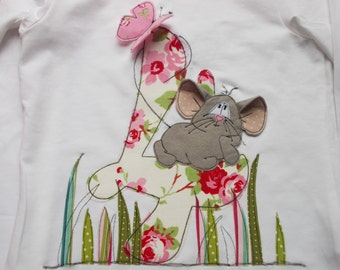 Birthdayshirt 'Mouse MiLA'