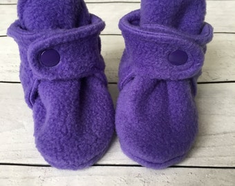 Fleece Baby Booties | Baby Booties | Fleece Baby Boots | Newborn Boots | Baby Shoes | Soft Baby Boots | Baby Shower Gift