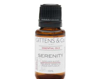Serenity Essential Oil Blend - Rosemary, lavender, eucalyptus