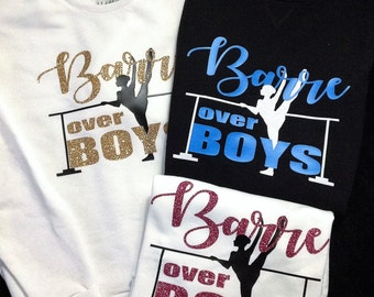 Barre Over Boys (adult t-shirt or tank)