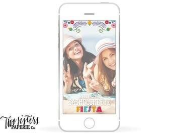 Bachelorette Snapchat Filter - BACHELORETTE FIESTA - Fiesta Snapchat Filter - Fiesta Geofilter - Fiesta Bachelorette