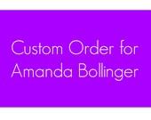 Bulk Order For Amanda Bollinger (30 Tees/5 Styles - Bulk Discounted Rate)
