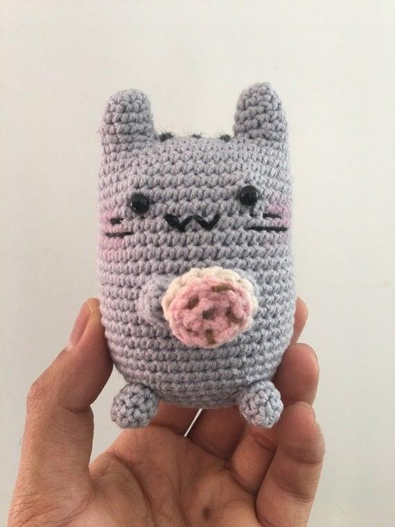 Amigurumi Pusheen Cat : Magnetic Amigurumi Pusheen The Cat