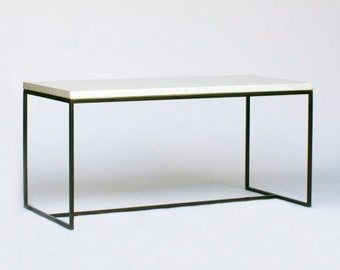 Wilson Modern Concrete Coffee Table