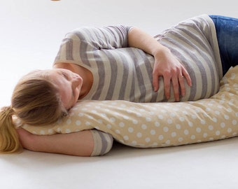 Oreiller de grossesse morte sarrasin oreiller maternité allaitement alimentation allaitement corps support oreiller ventre oreiller Expecting