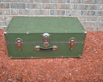 old green trunk
