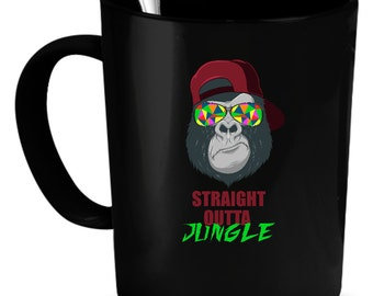 Jungle Coffee Mug 11 oz. Perfect Gift for Your Dad, Mom, Boyfriend, Girlfriend, or Friend - Proudly Made in the USA! Jungle gift