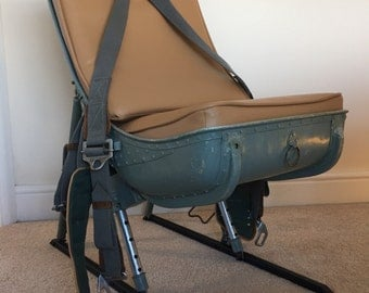 WW2 Bomber seat, Russian Engineers, Navigators Aircraft seat, bomber chair