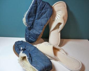 Dearfoam Slippers and Warm Booties