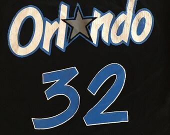 Vintage Shaquille O'Neal Shaq Orlando Magic NBA Champion Jersey Size - Small - Medium