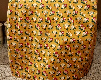Pioneer Woman fabric mixer cover/ Kitchen Aide mixer cover/ Kitchen Aide cover/stand mixer cover/Pioneer Woman decor/fabric mixer cover